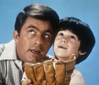 Bill Bixby & Brandon Cruz