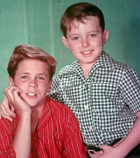 Tony Dow and Jerry Mathers, 1959