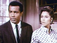 "Lloyd Haynes & Denise Nicholas from ""Room 222"""